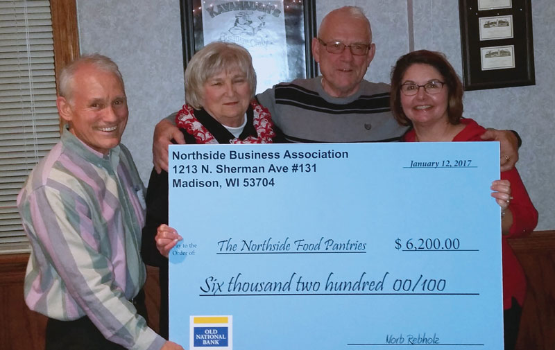 Northside Food Pantries Receive Checks From Nba Northside News